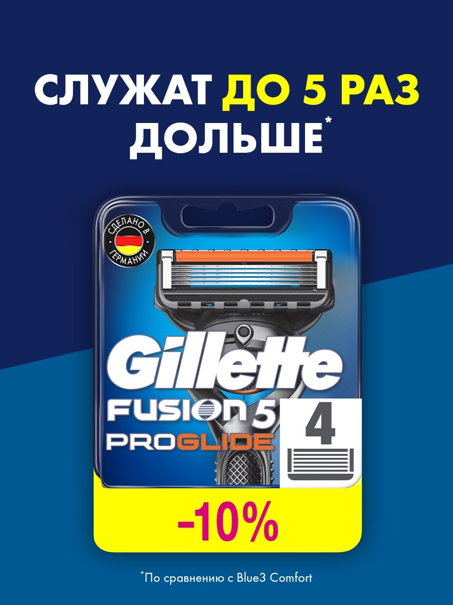 Кассеты для бритв GILLETTE Сменные кассеты для бритья FUSION PROGLIDE, 4 шт. new 16mm 20mm silver gold metal stainless steel watchband bands strap bracelets for brands watches men high quality accessories