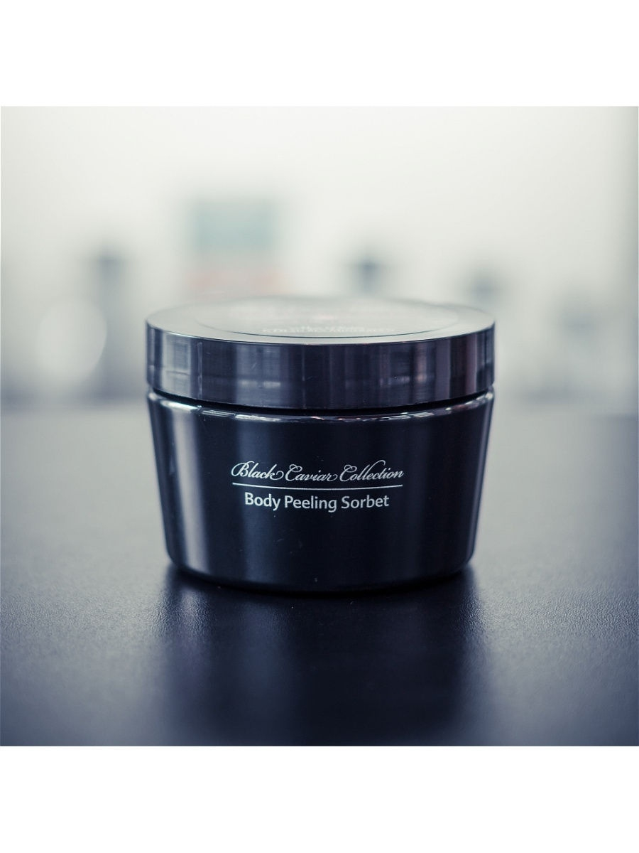 Пилинг Mon Platin DSM Сорбе-пилинг для тела с орхидеей Black Caviar Collection, 250 мл