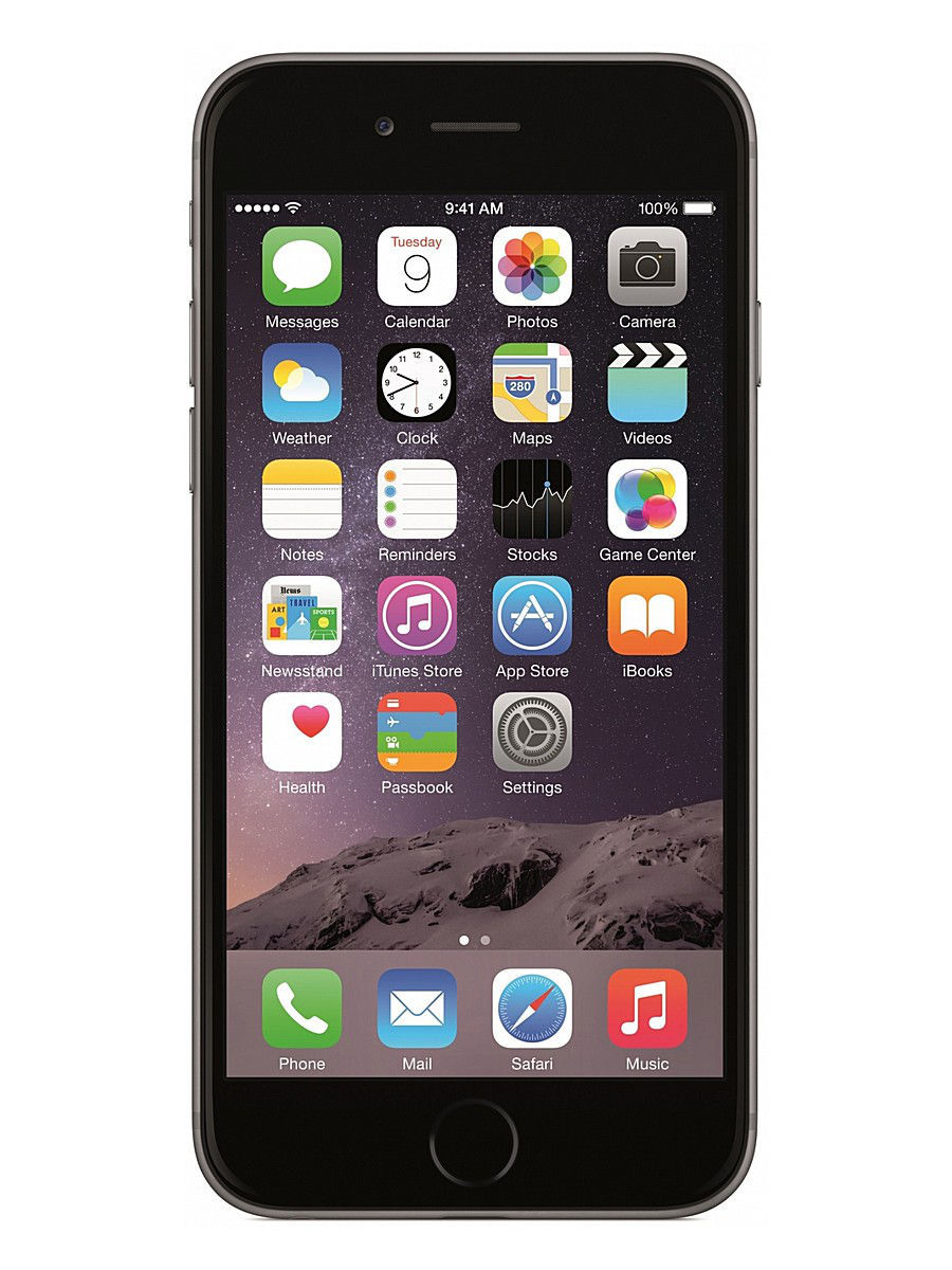 Смартфон Apple IPHONE 6 PLUS SPACE GRAY 16GB