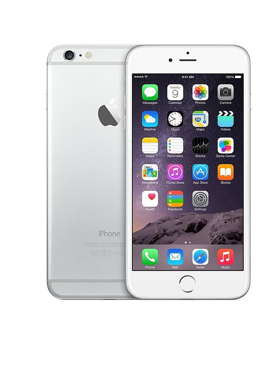 Смартфон Apple IPHONE 6 PLUS SILVER 16GB