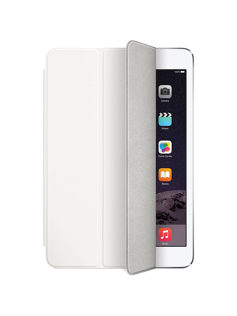 Чехлы для планшетов Apple Чехол Apple iPad mini Smart Cover White часы nixon time teller p black bright pink