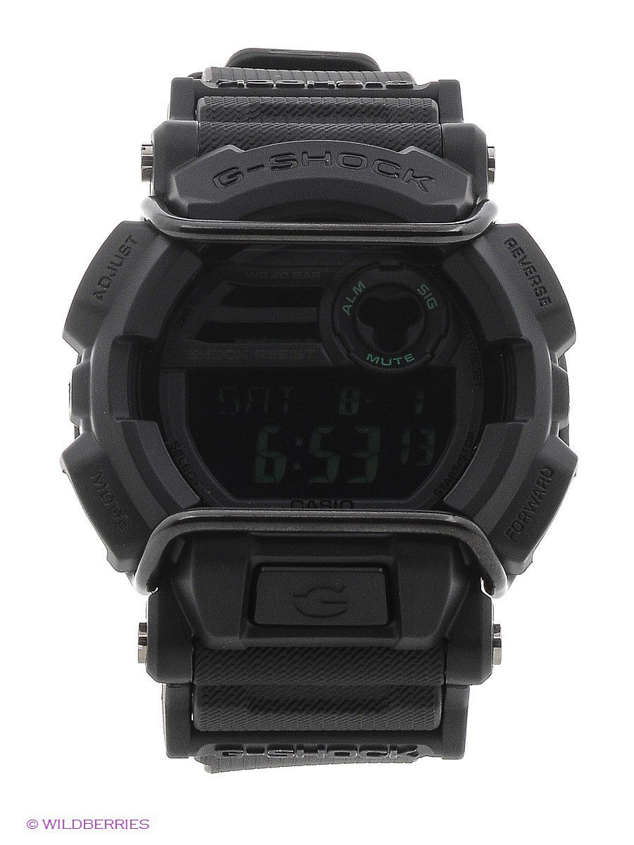 Часы наручные CASIO Часы G-SHOCK GD-400MB-1E часы g shock dw 5600hr 1e casio