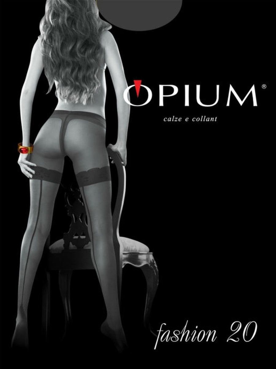 Колготки OPIUM Fashion20/antracite