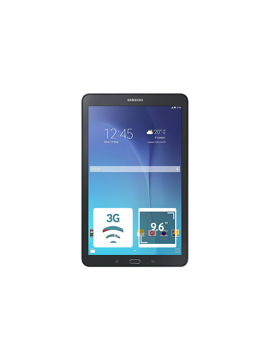 Планшеты Samsung Планшет Samsung GALAXY Tab E 8GB 3G black планшет samsung galaxy tab e 9 6 8gb 3g black sm t561