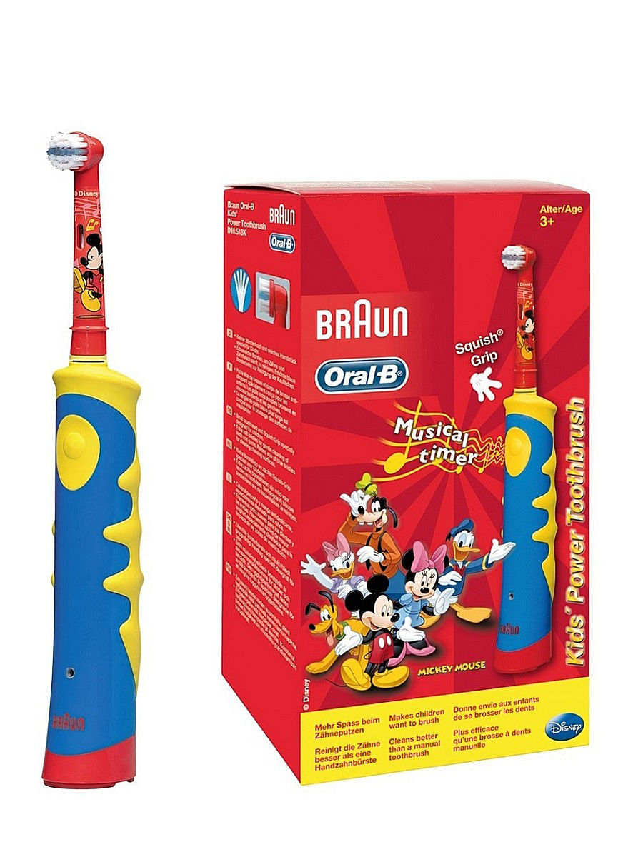 ORAL-B Э/щетка D10.513K Mickey Kids Braun 80206610