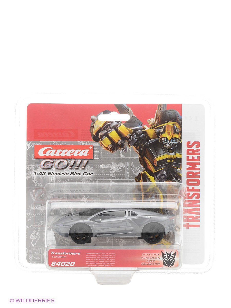 "�������������� ������� ""Transformers - "" Lockdown GO!!!"" CARRERA 64020"