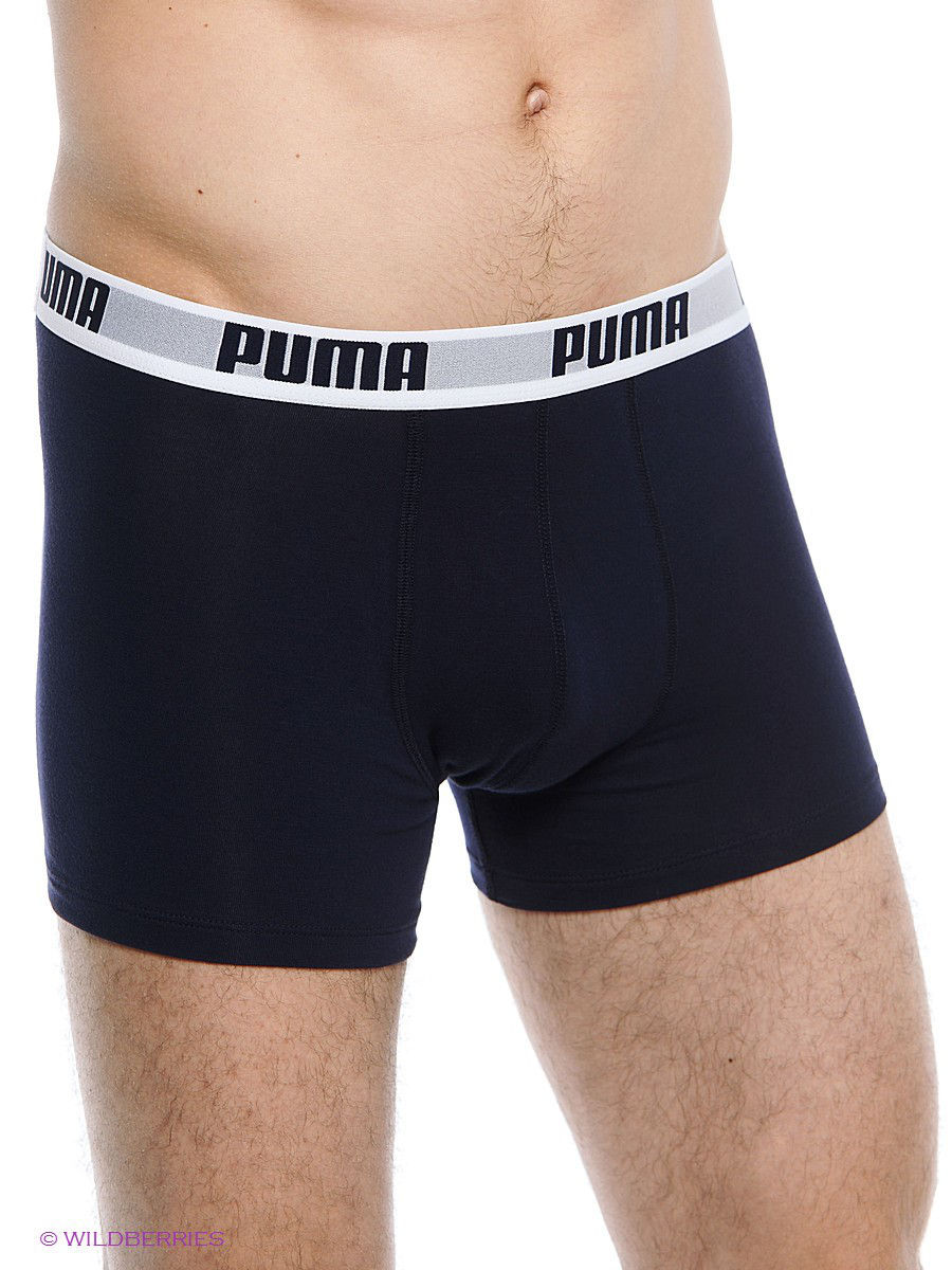 Трусы PUMA Трусы Basic Shortboxer 2P roma basic puma