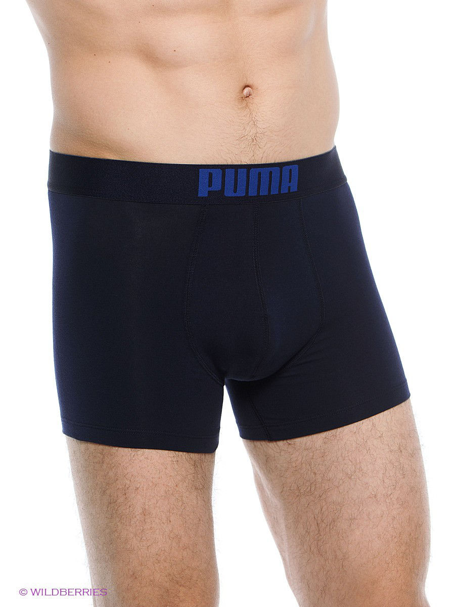 Трусы PUMA PLACED LOGO BOXER 2P 90651901