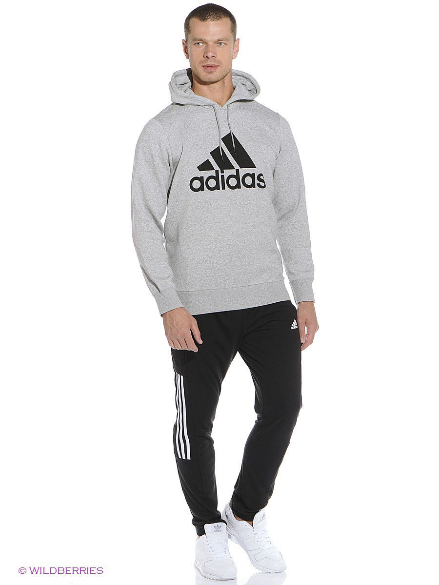 Худи Adidas Худи Sport Essentials Logo Hoodie Fleece худи essentials hoodie