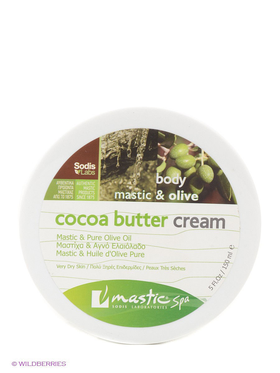 "Крем для тела ""Cocoa butter cream mastic & olive"" Mastic Spa MS-2-01-10"