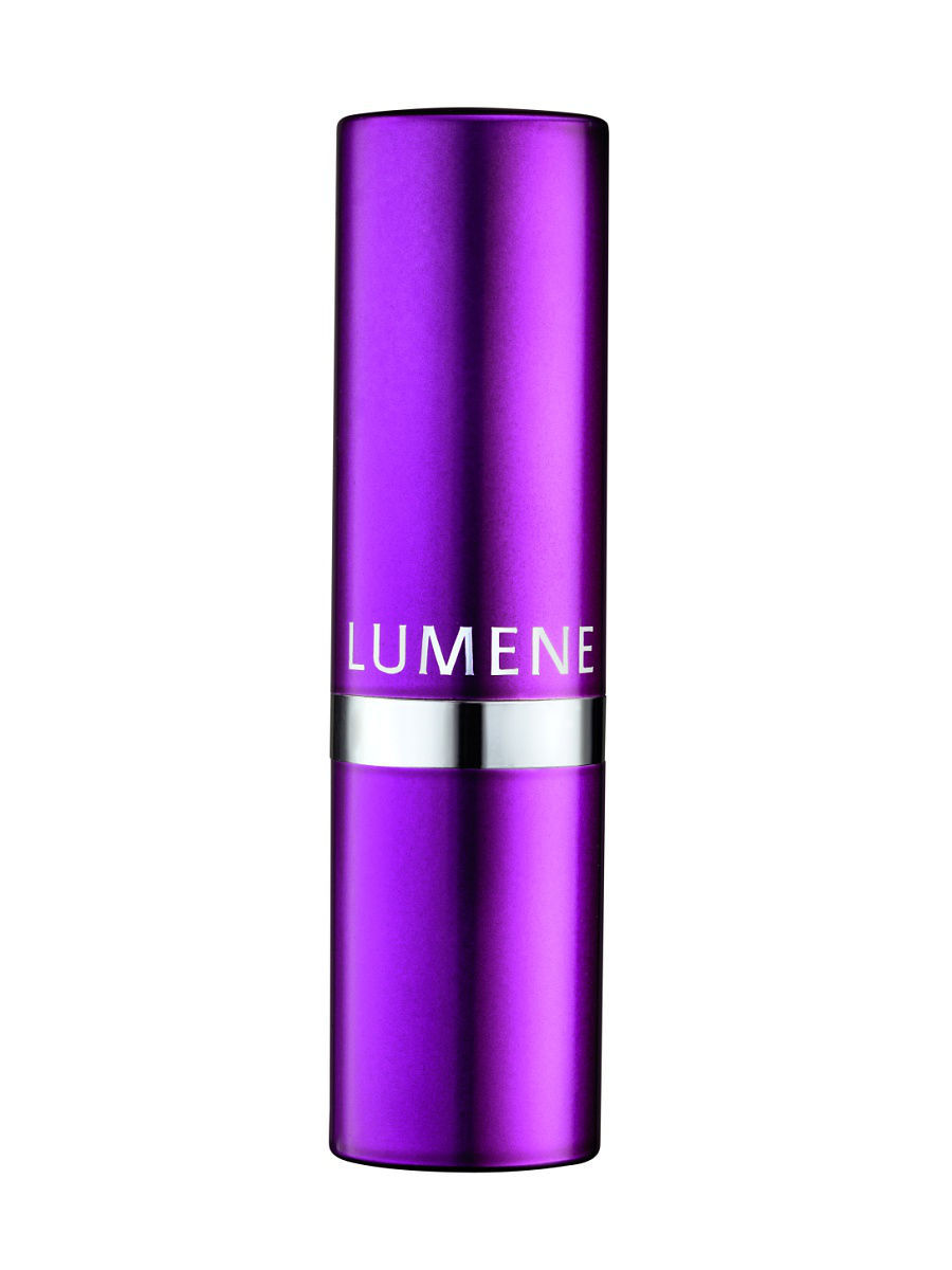 Сатиновая помада Lumene Raspberry Miracle  04 Яркая фиалка, 4,7 гр