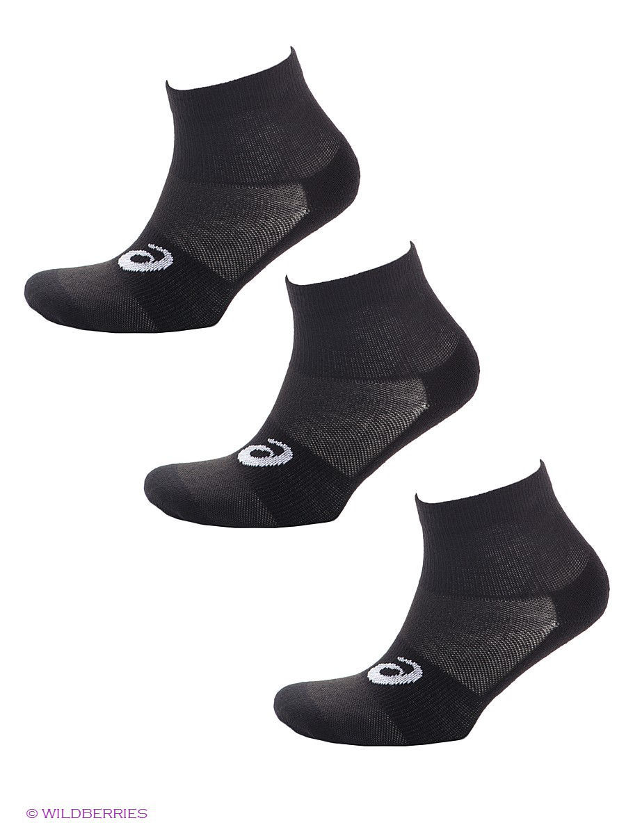 Носки ASICS Носки 3Ppk Quater Sock, 3 пары носки asics носки 2ppk tech ankle sock 2 пары