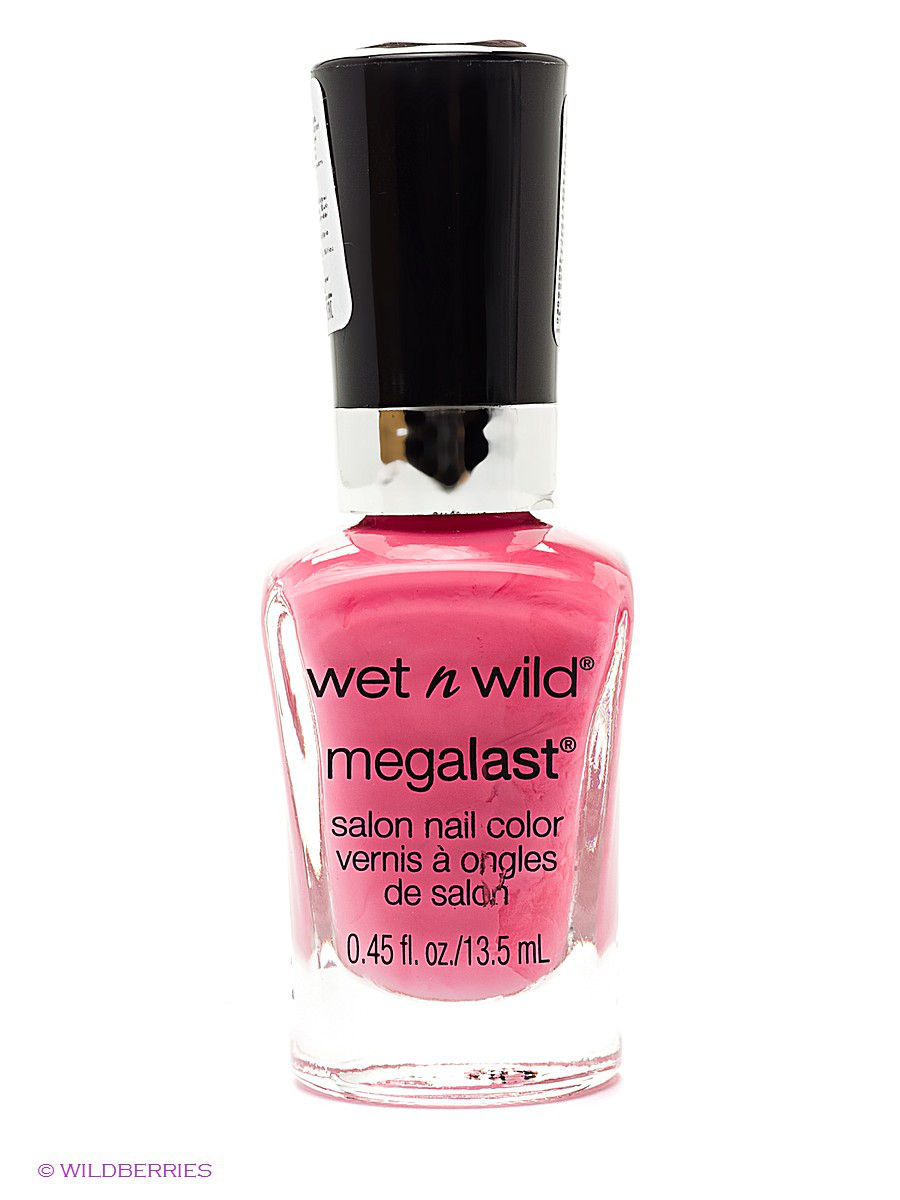Лаки для ногтей Wet n Wild Лак для ногтей megalast salon nail color, тон candy licious плавки river island river island ri004ewisv53
