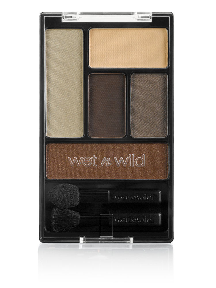 Тени Wet n Wild Тени для век набор color icon eye shadow palette, тон the naked truth тени для век color catch eye palette 193 3 2г beyu