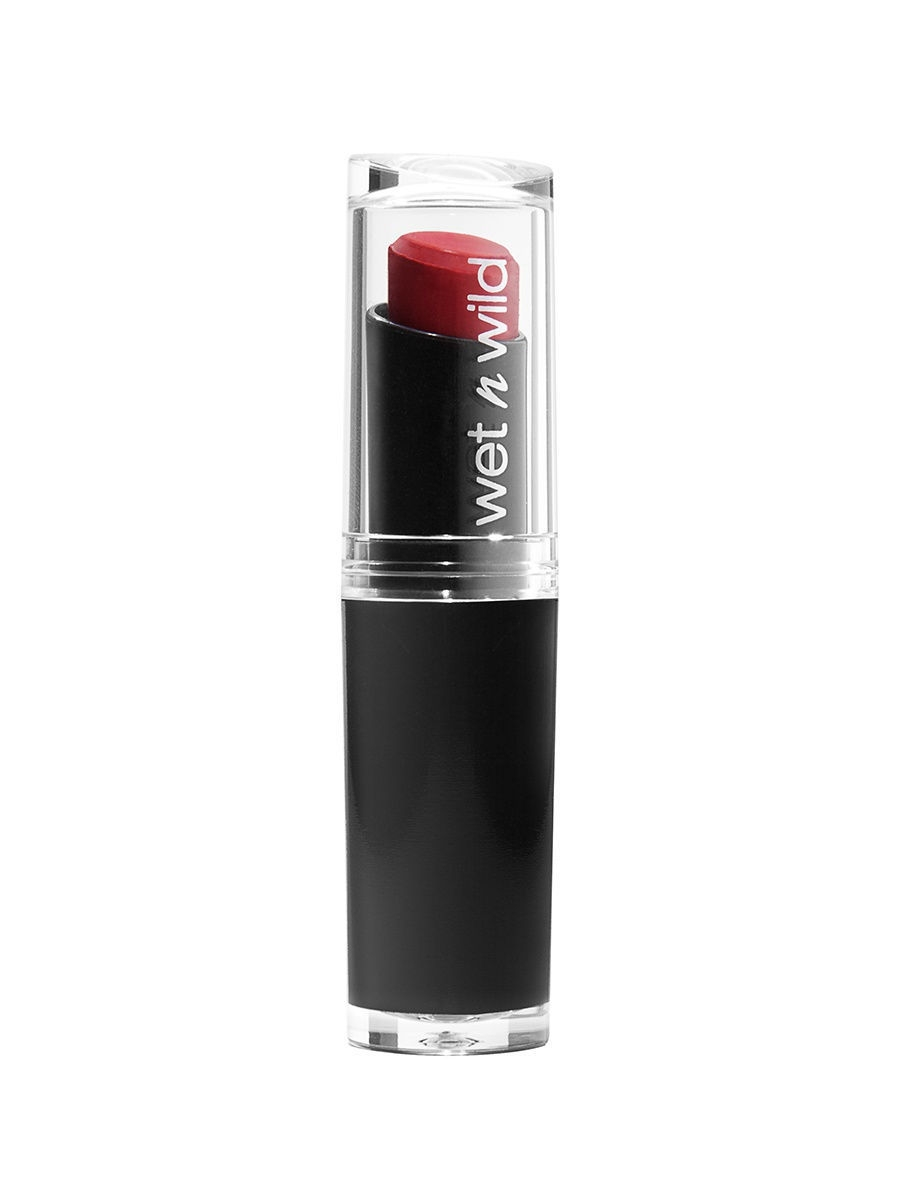 Помады Wet n Wild Помада для губ mega last lip color, тон stoplight red помады wet n wild помада для губ mega last lip color тон 24 carrot gold