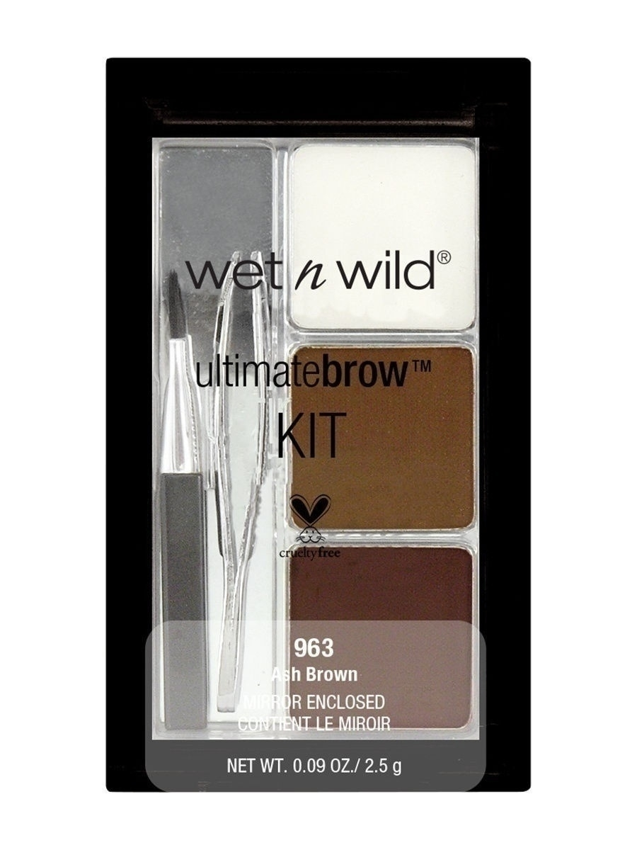 Набор для бровей ultimate brow kit, тон ash brown Wet n Wild