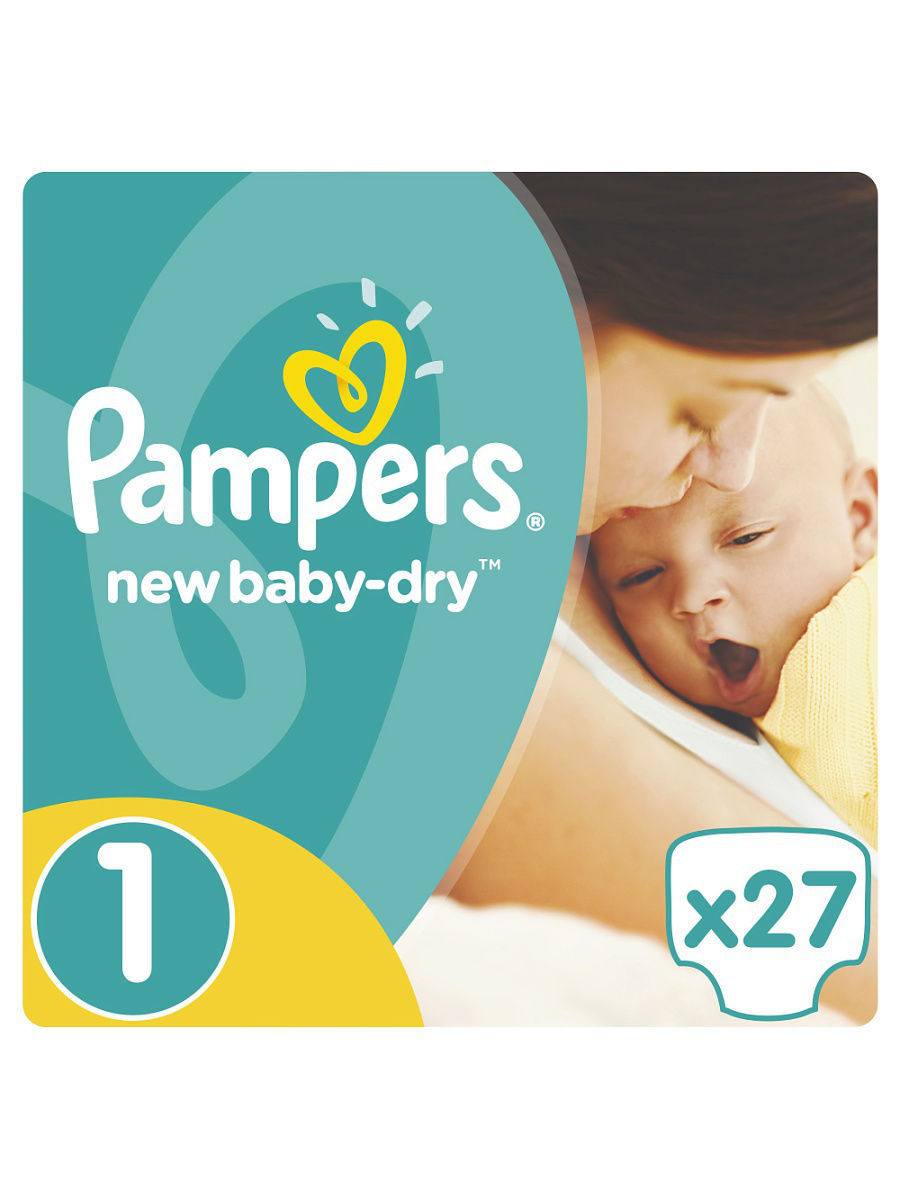 ���������� Pampers New Baby-Dry 2-5 ��, 1 ������, 27 �� PA-81499254