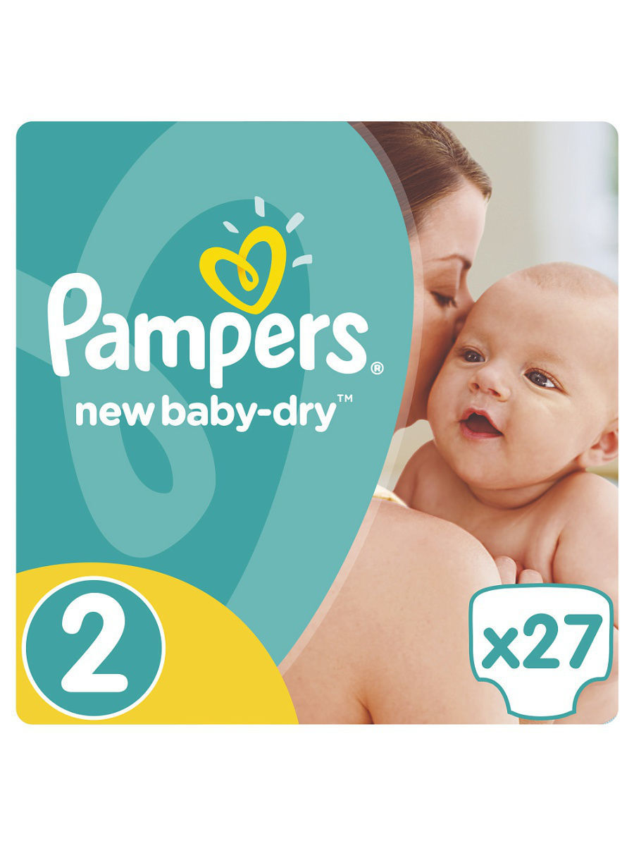 ���������� Pampers New Baby-Dry 3-6 ��, 2 ������, 27 �� PA-81499261