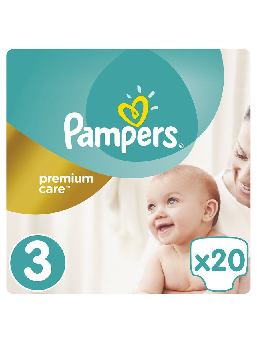 ���������� Pampers Premium Care 5-9 ��, 3 ������, 20 �� PA-81532766