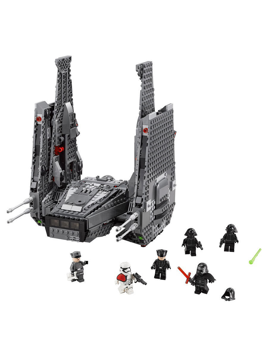 Конструкторы Lego LEGO Star Wars TM Командный шаттл Кайло Рена 75104 star wars 75104 командный шаттл кайло рена