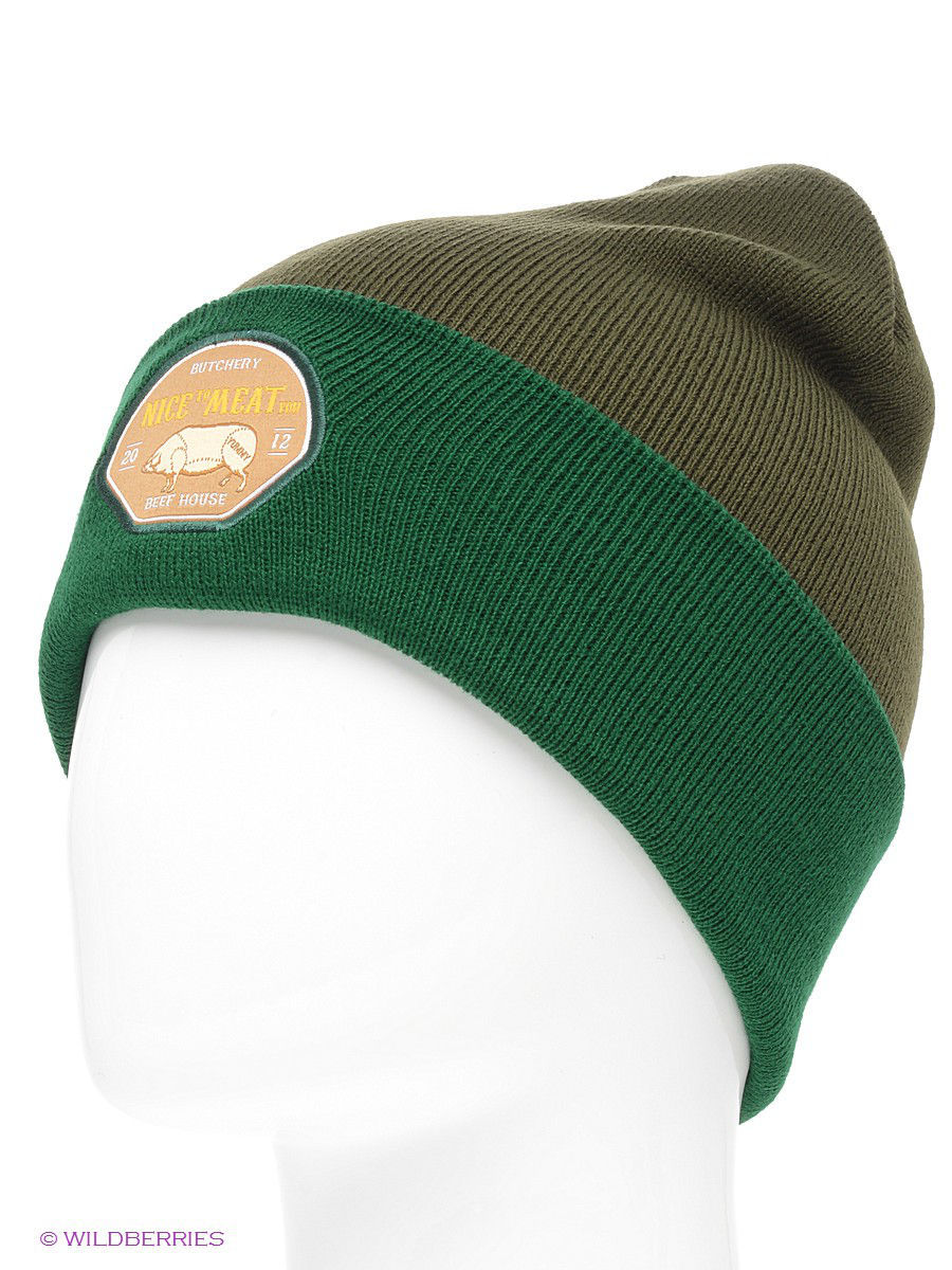 ����� TRUESPIN Nice To Meat You Classic Beanie True Spin TS-NICE14/Olive/Green