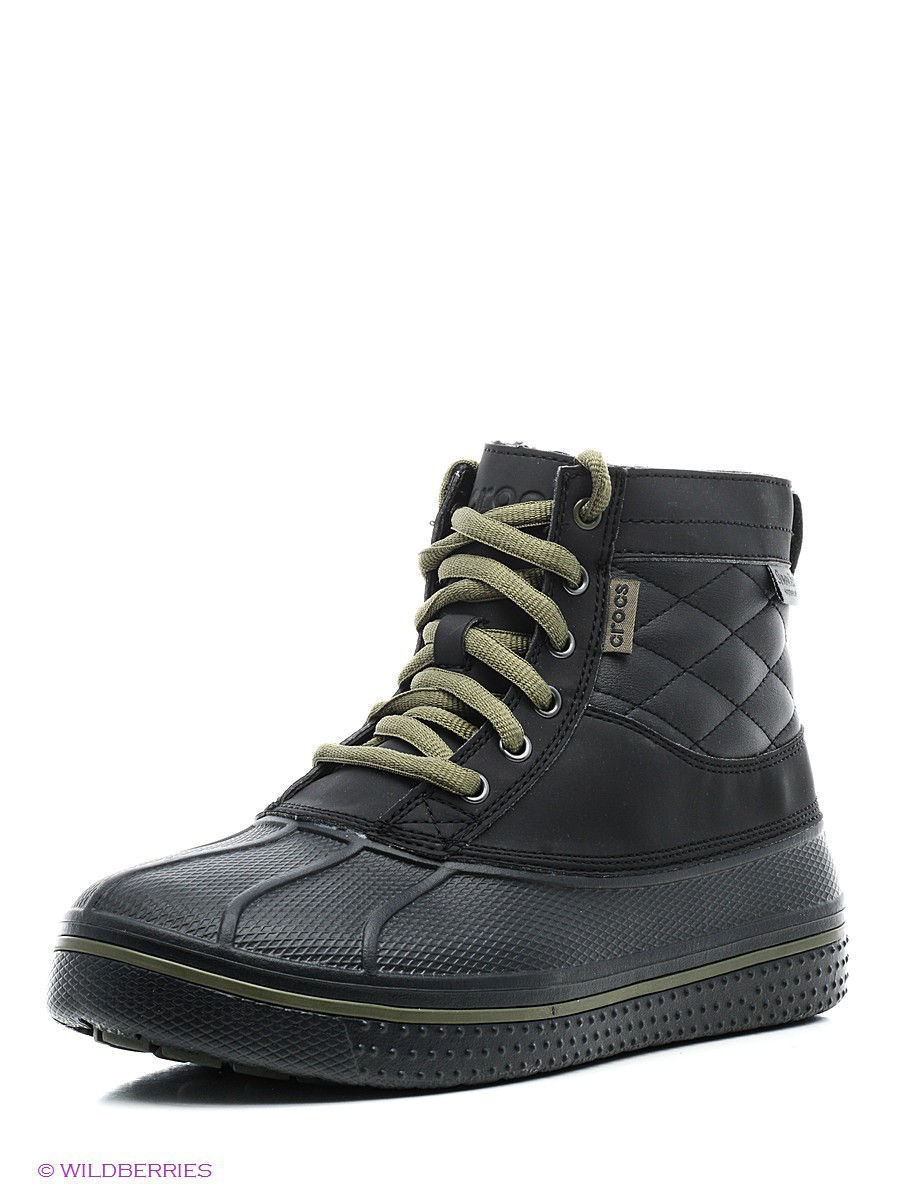 Ботинки AllCast Waterproof Duck Boot M CROCS 16233-04B