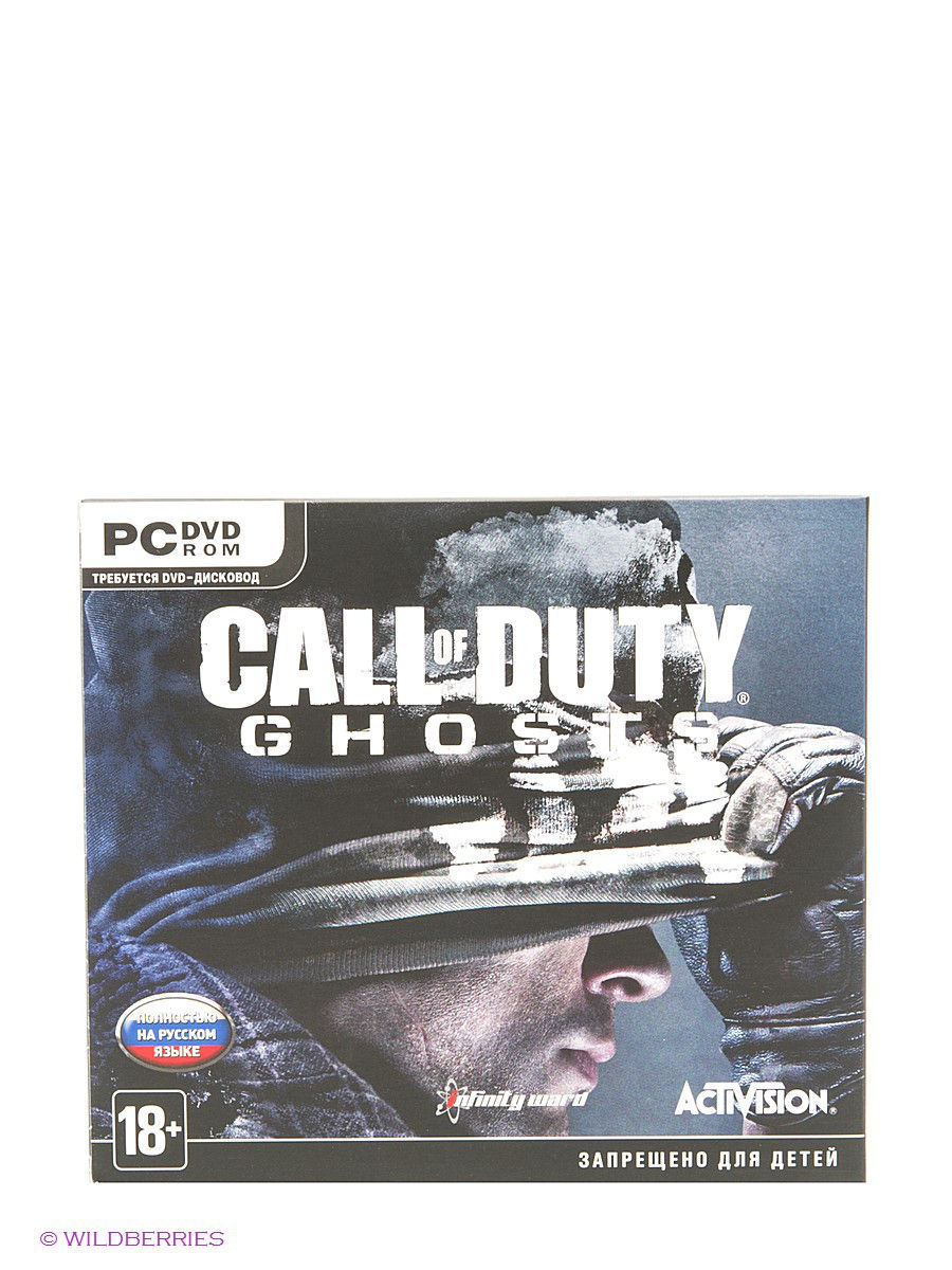 НД плэй Call of Duty. Ghosts PC-DVD (Jewel)