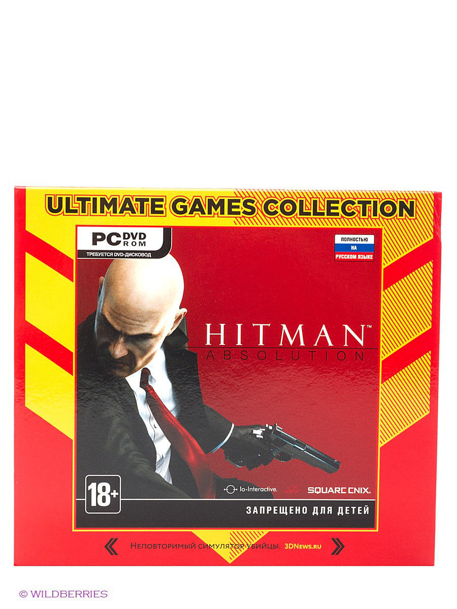Ultimate Games. Hitman Absolution. Русская версия (Jewel)