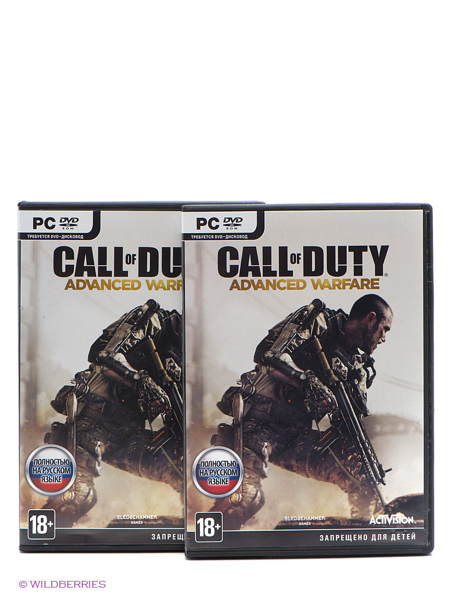 Call of Duty. Advanced Warfare. Русская версия PC-DVD (DVD-Box)