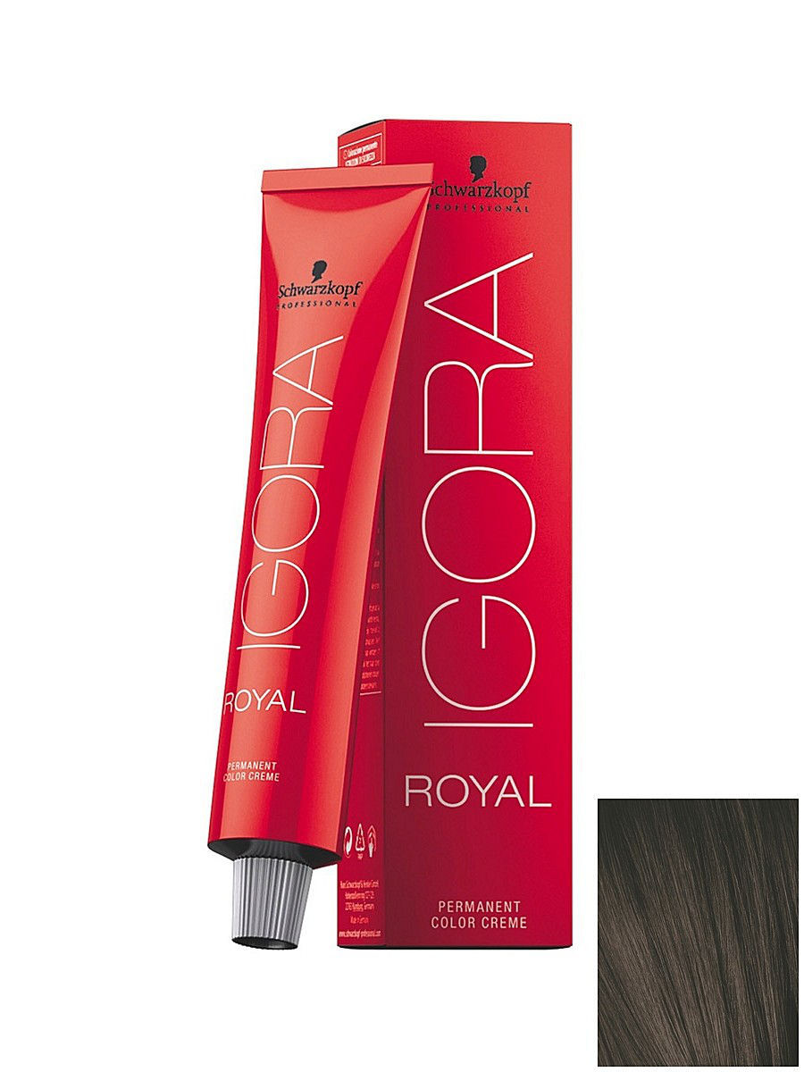Краски для волос Schwarzkopf Professional Краситель для волос Igora Royal 5-1 Светлый коричневый сандрэ, 60 мл tomubird new original hand embossed superior leather designer bag famous brand women bags genuine leather handbags shoulder