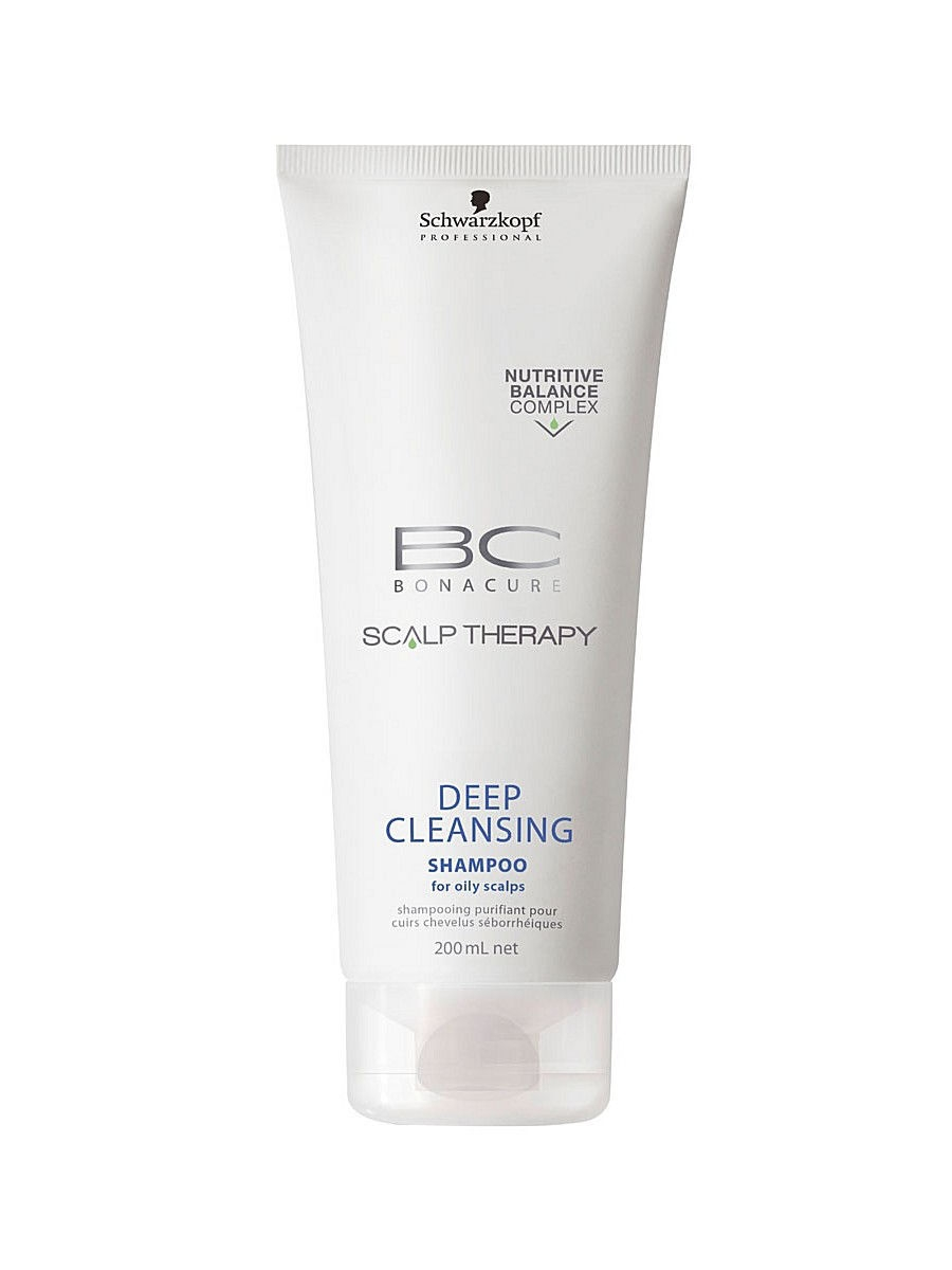Шампунь BC HAIR + SCALP DEEP CLEANSING 200 мл BONACURE