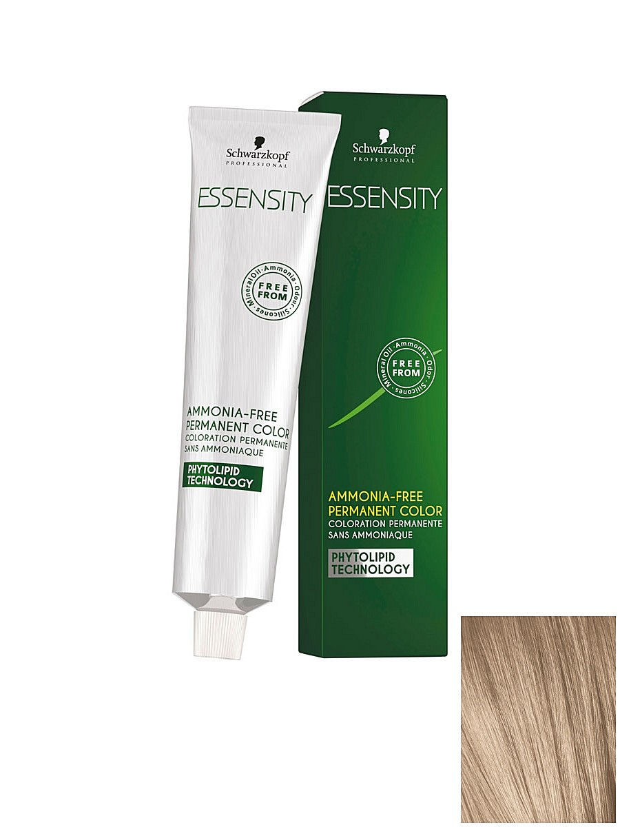 Краски для волос Schwarzkopf Professional Безаммиачный краситель ESSENSITY 9-14 блондин сандрэ бежевый, 60 мл vintage bronze men wristwatch skeleton clock male leather strap antique steampunk casual automatic skeleton mechanical watches