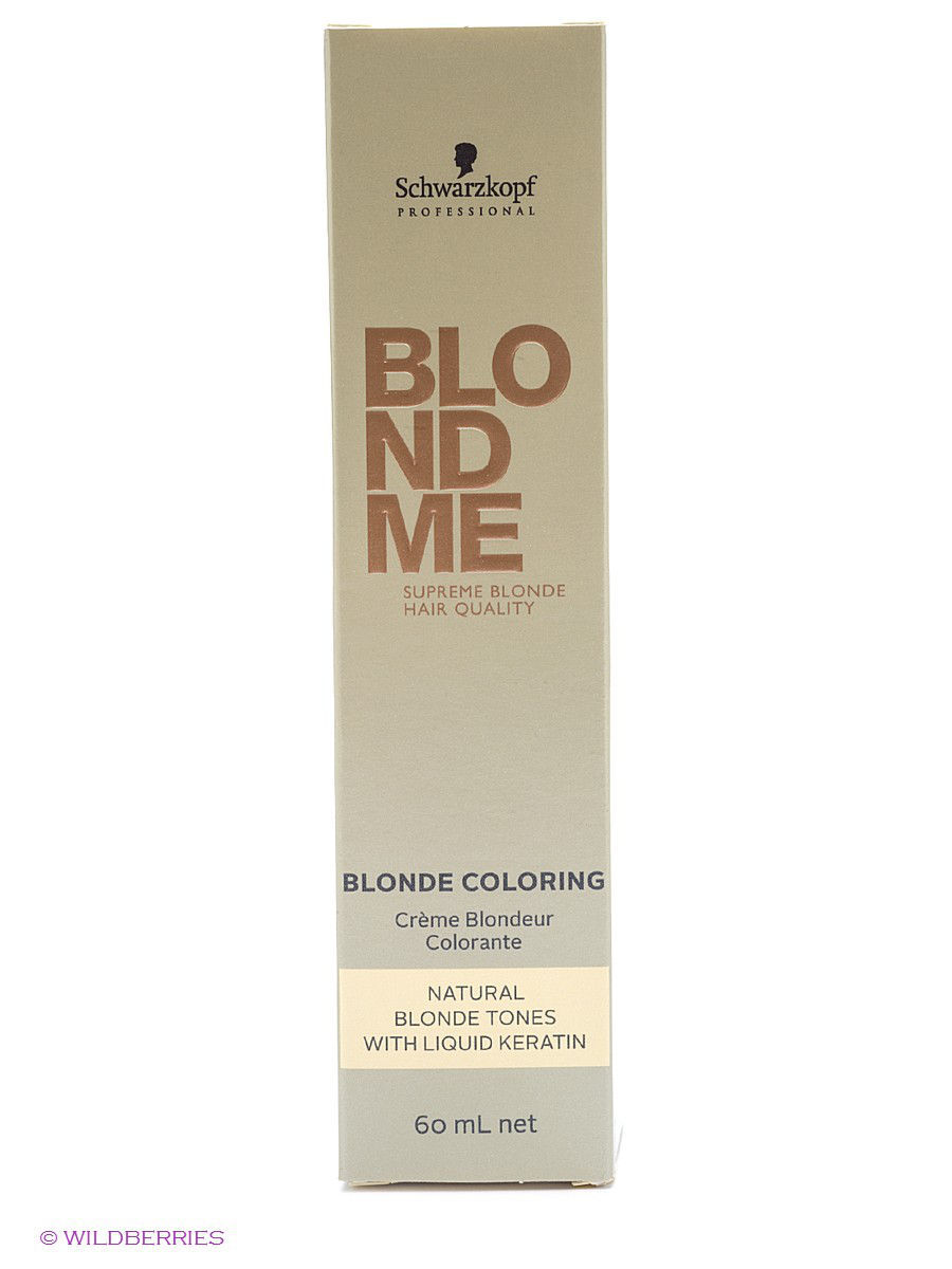 BLONDME Краситель BM col natural ice 60 ml