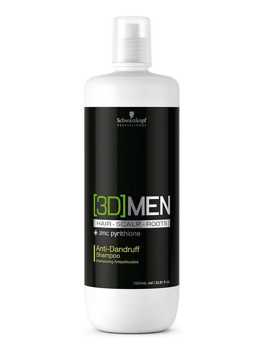 Шампуни Schwarzkopf Professional Шампунь Против Перхоти [3D]Men. , 1000 Мл 100g vitamin e food grade usa imported