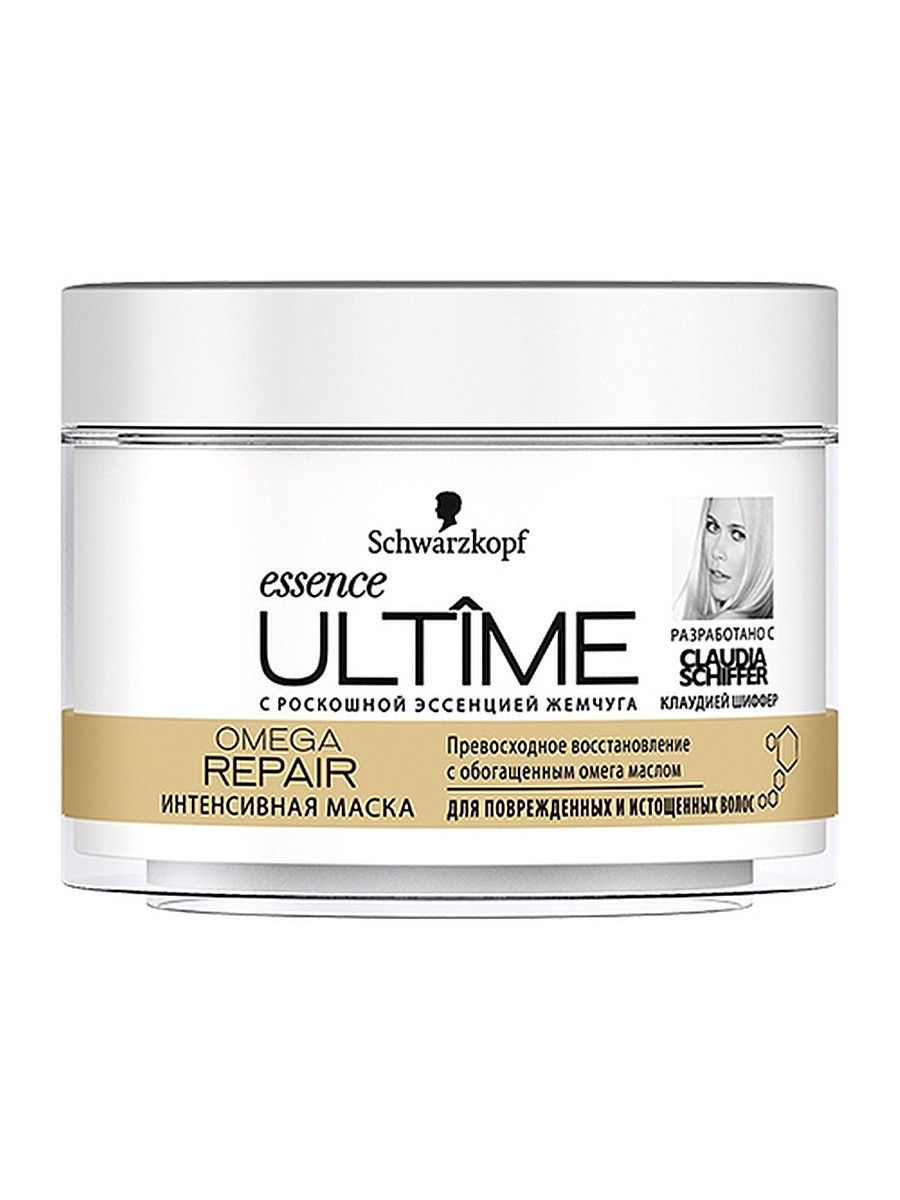 Косметические маски essence ULTIME Маска в банке Omega Repair 200 мл essence ultime omega repair 250