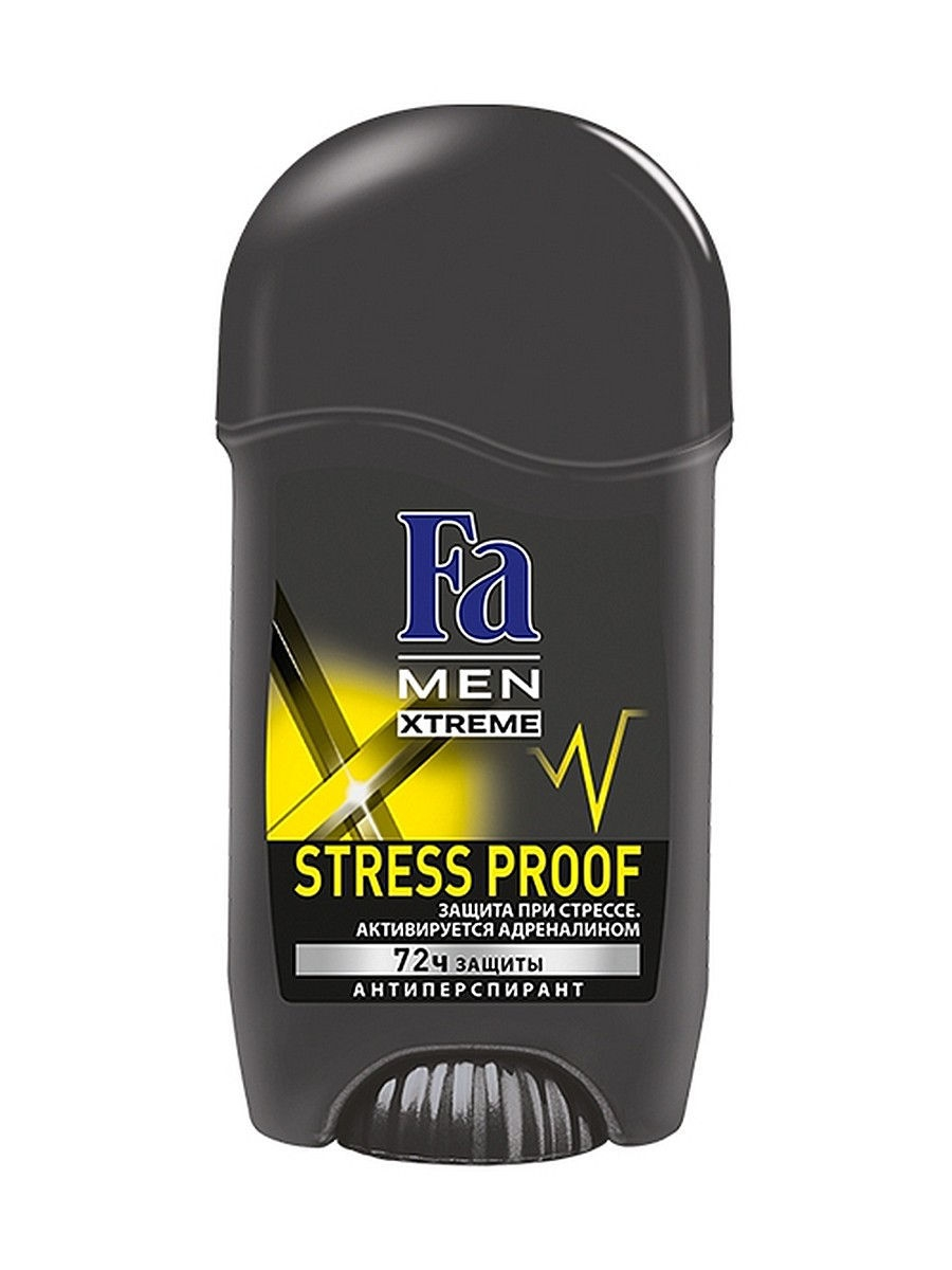 Дезодоранты Fa Део-Стик MEN Xtreme Stress Proof 50 мл fa men xtreme гель для душа polar 250 мл