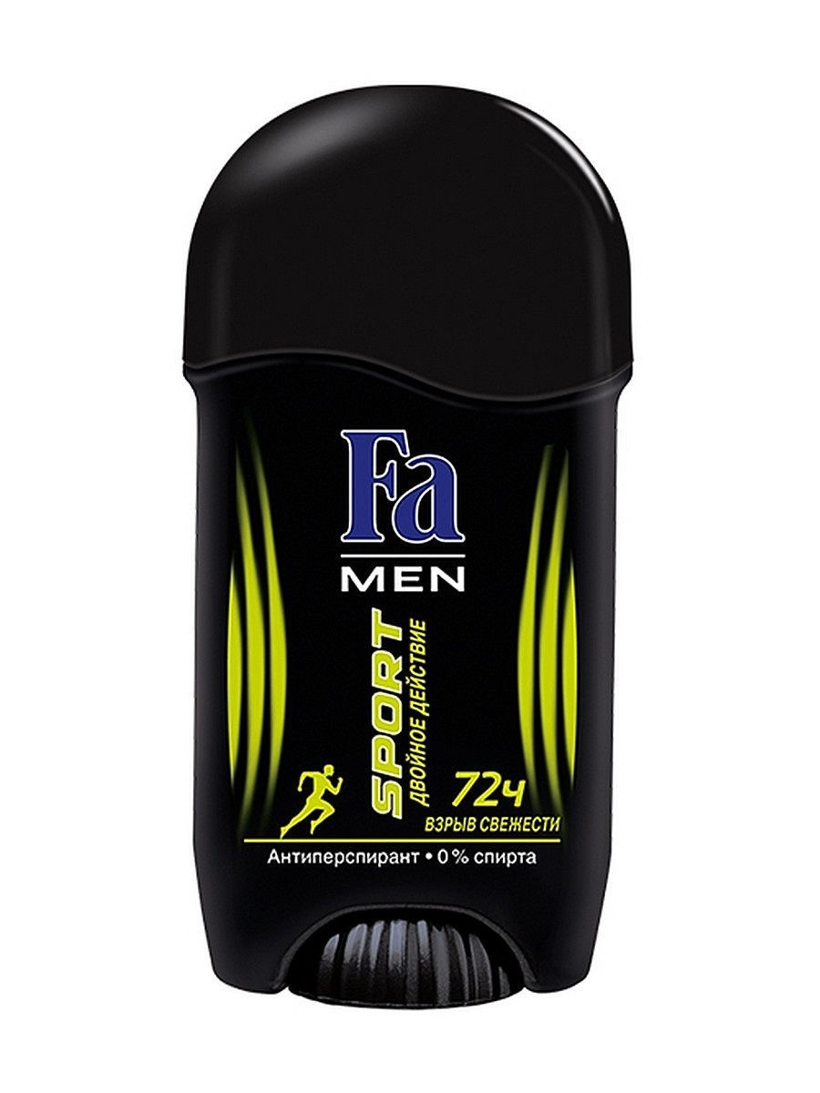 Дезодоранты Fa Део-Стик MEN Sport Double Power 50 мл fa део стик men xtreme dry 50 мл
