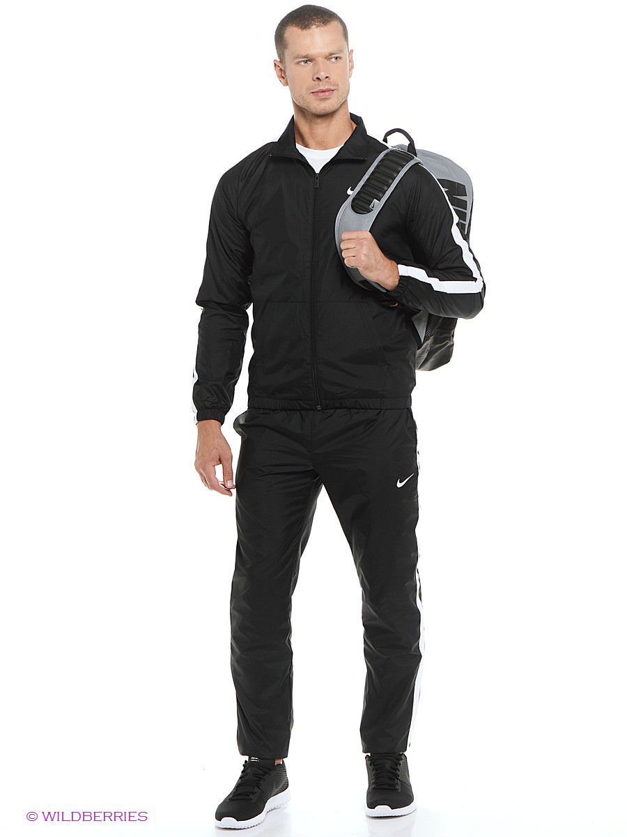 Костюмы Nike Спортивный костюм SEASON WOVEN TRACK SUIT носки nike носки nike running dri fit cushion d