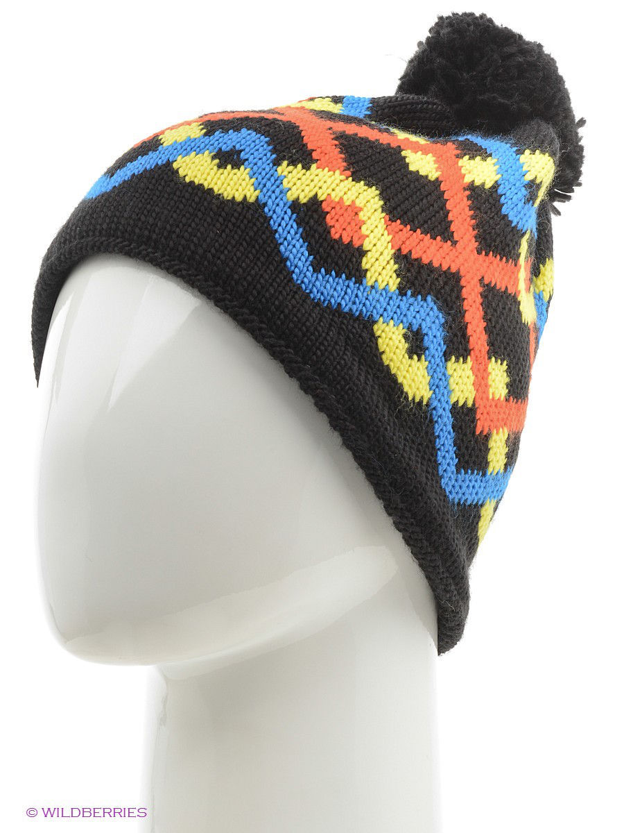 Шапки Buff Шапка BUFF KNITTED HATS BUFF RIGER BLACK снуд buff buff bu023ckrju67