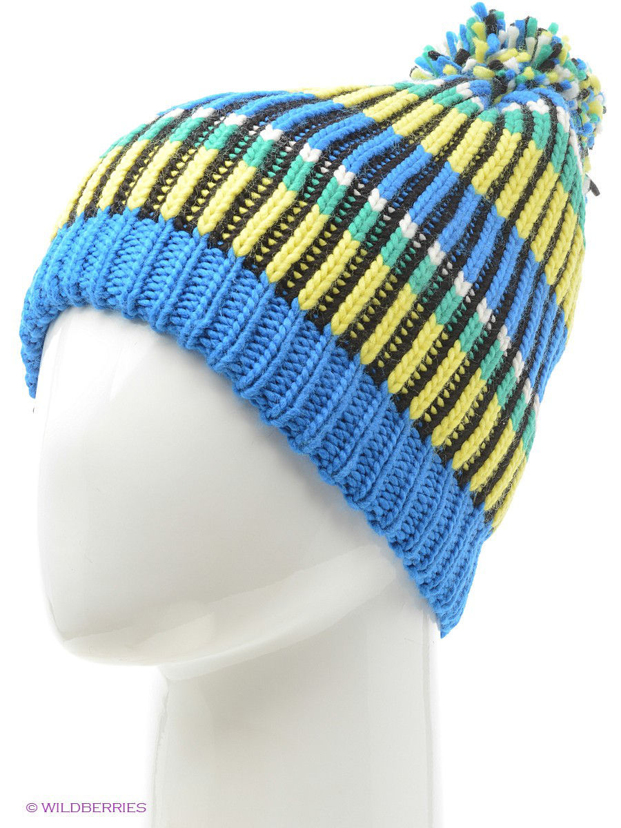 Шапки Buff Шапка BUFF KNITTED HATS BUFF TROY BLUE