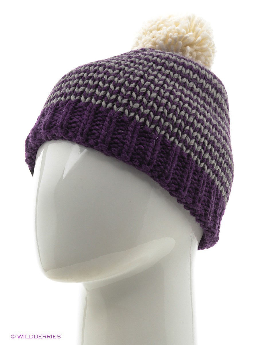 Шапки Buff Шапка BUFF KNITTED HATS BUFF DORN PLUM