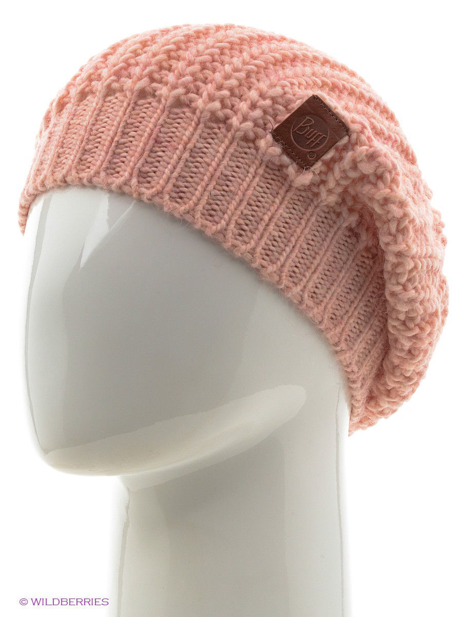 Шапки Buff Шапка BUFF KNITTED HATS BUFF GRIBLING PEACH BEIGE шапки buff шапка buff knitted hats buff riger black