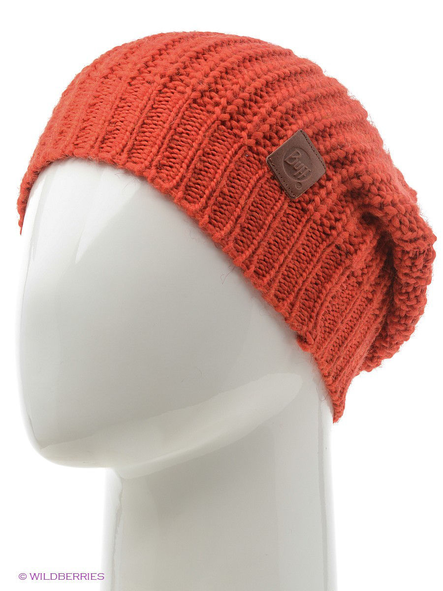 Шапки Buff Шапка BUFF KNITTED HATS BUFF GRIBLING FIERY RED