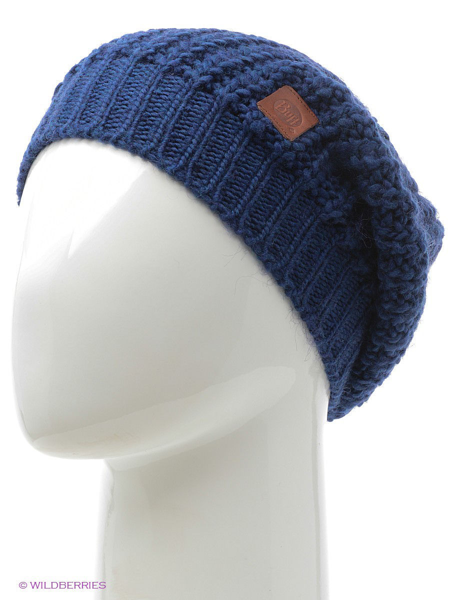 Шапки Buff Шапка BUFF KNITTED HATS BUFF GRIBLING BLUE LIMOGES шапка buff buff bu023cbolk48