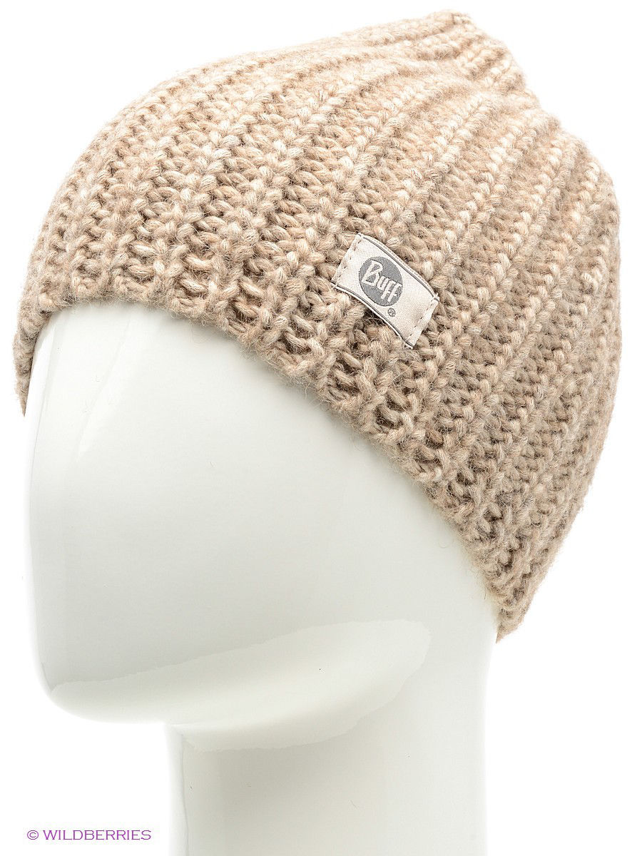 Шапки Buff Шапка BUFF KNITTED HATS BUFF STREAM OYSTER GRAY