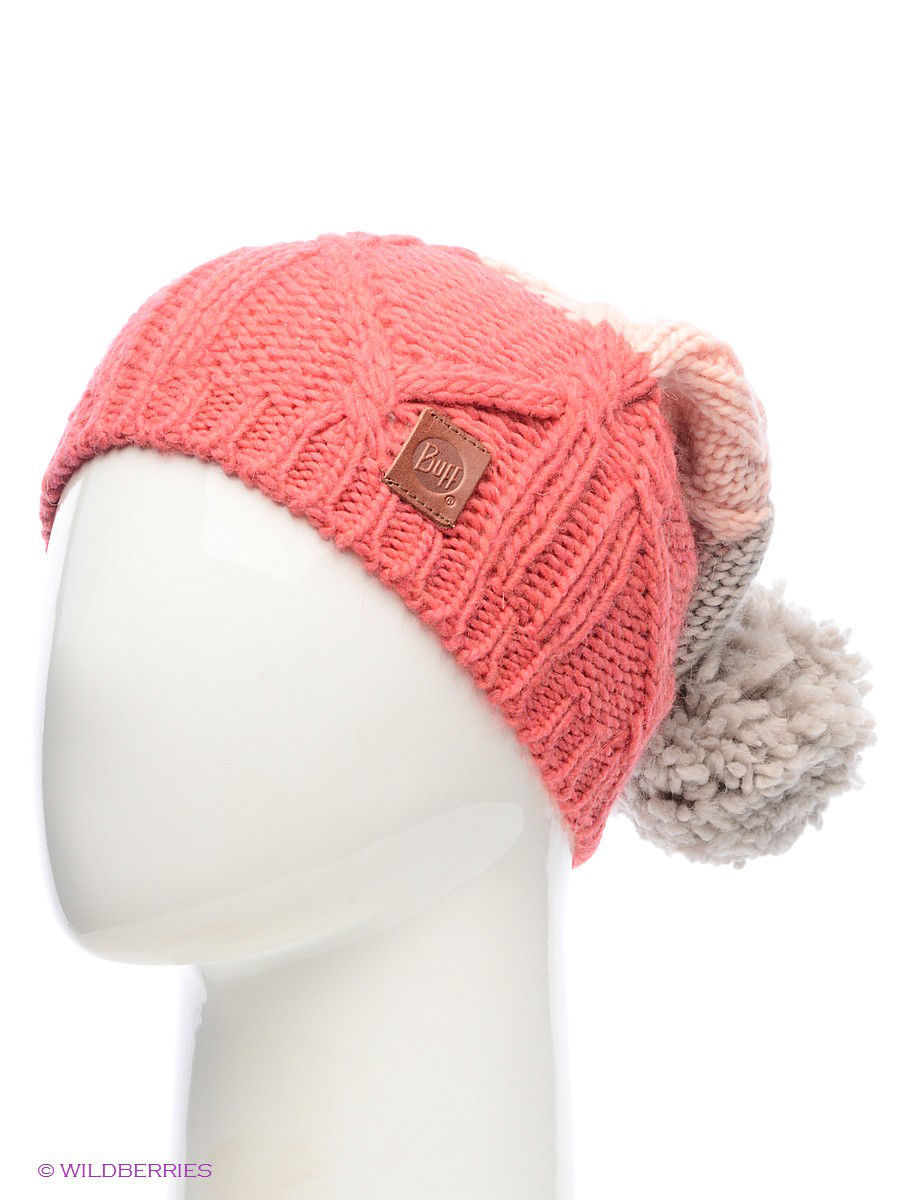 Шапки Buff Шапка BUFF KNITTED HATS BUFF BRAID PARADISE PINK