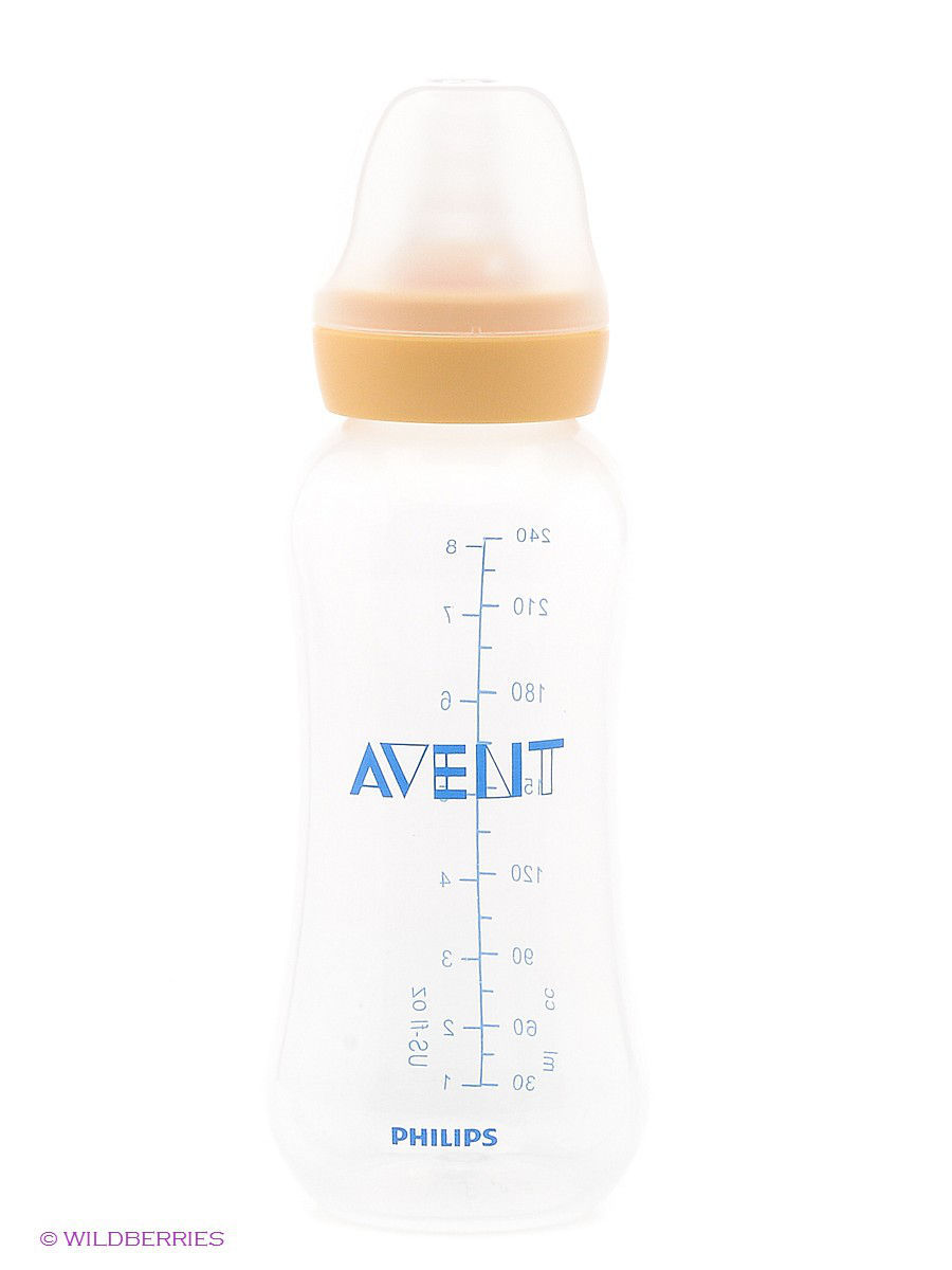 Бутылочки для кормления Philips AVENT Детская бутылочка для кормления Philips Avent серии Standard/Essential SCF971/17, 240 мл, 3 мес.+ landscape photo frame of the living room of the paris tv tower living tv background wallpaper wallpaper wall canvas