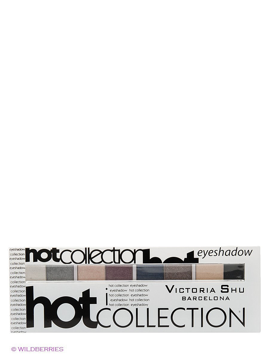 Тени Victoria Shu НАБОР ТЕНЕЙ ДЛЯ ВЕК HOT COLLECTION, МАРКИ VICTORIA SHU №4 тени для век all for eyes 464 victoria shu