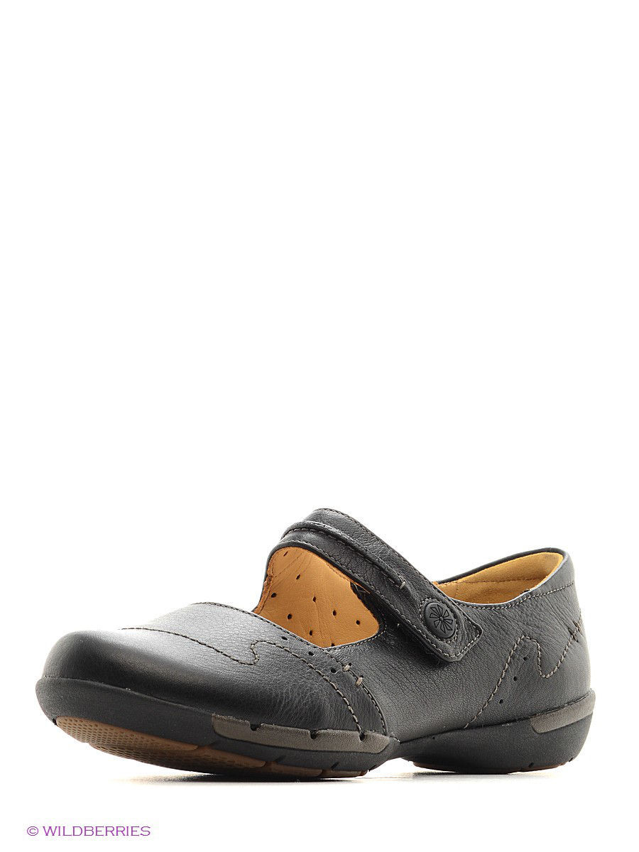 Туфли на каблуке Clarks 26102762/blackleather