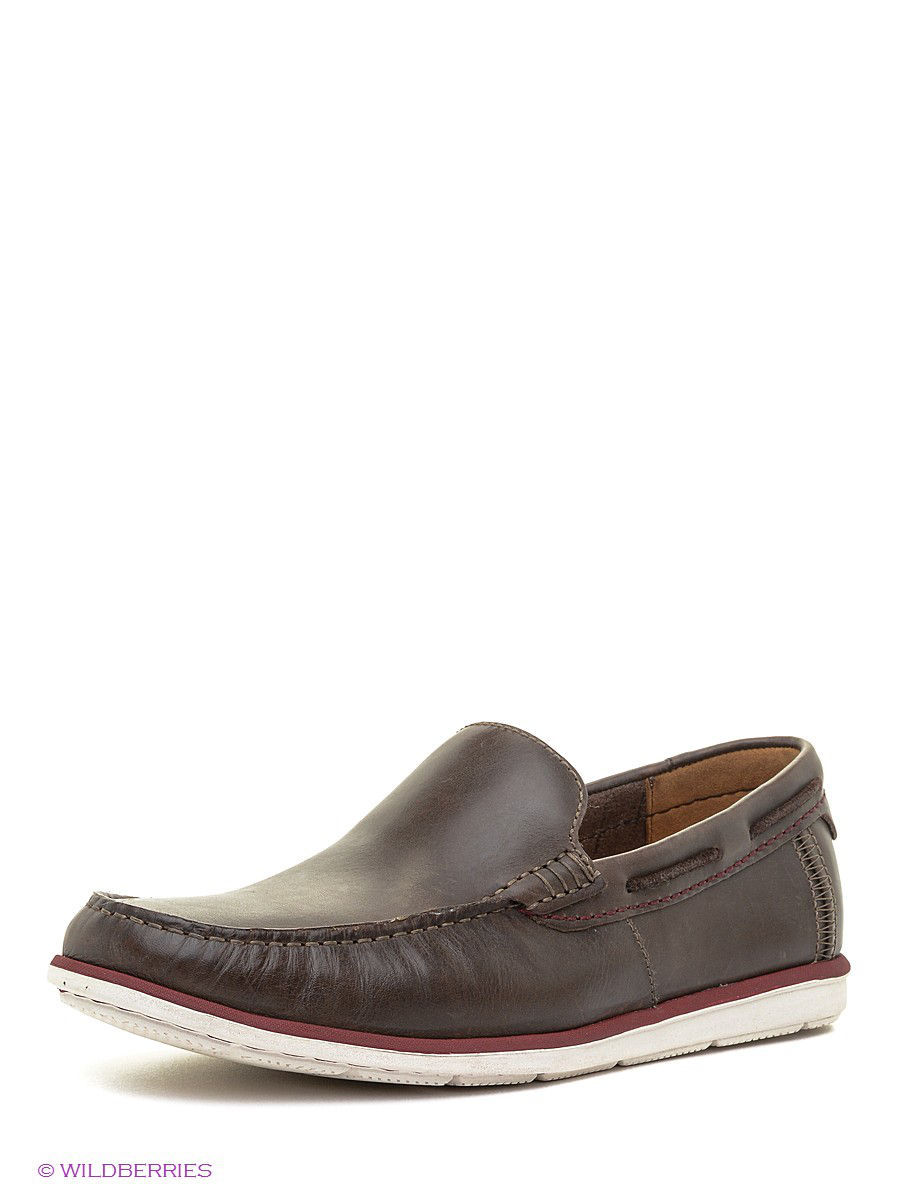 Мокасины Clarks 26106715/darkbrownlea